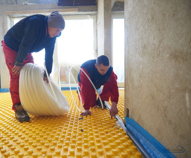 Radiant Floor Heating Should Be Installed by Professionals Who Know What They Are Doing.
