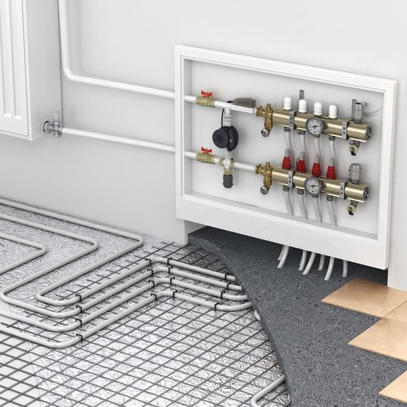 Radiant Floor Heating Is Perfect Way to Heat Your Home Evenly or in Sectors.