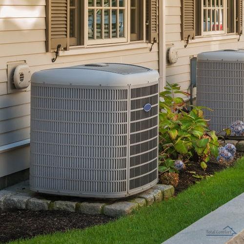 installed HVAC system